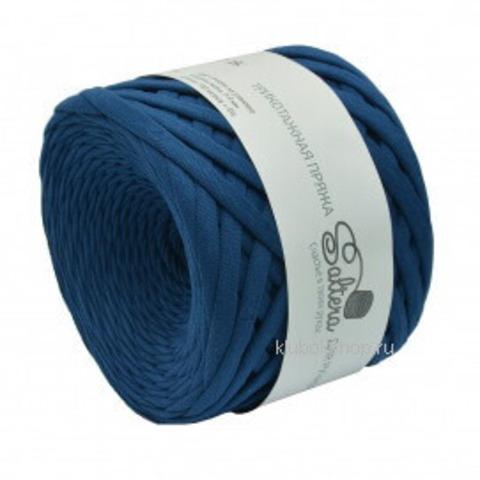 Трикотажная пряжа Saltera 105 Морской синий, фото