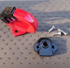 Вешалка-крючок для самоката Xiaomi M365 (черно-красный)