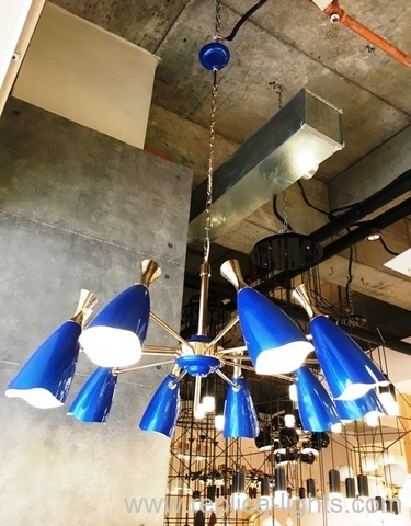 replica DUKE round chandelier 10 LIGHTS by Delightfull