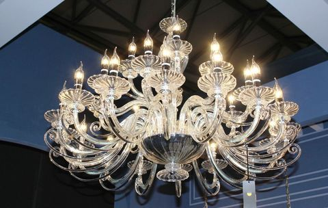 murano chandelier  12- 29 by Arlecchino Arts ( HK)