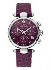 Женские швейцарские наручные часы Claude Bernard 10215 3 VIOP2