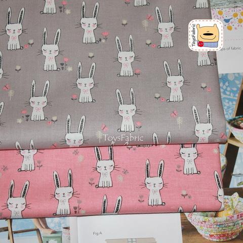 Ткань для пэчворка корейский хлопок 20828 (45х55см)