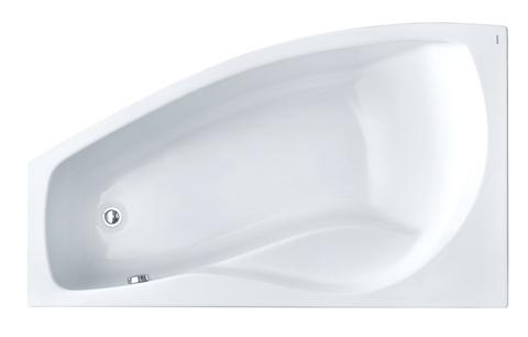 Майорка XL 160х95 L асимметричная белая 1WH111991