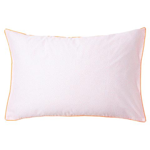 Наволочка на подушку в розовую крапинку