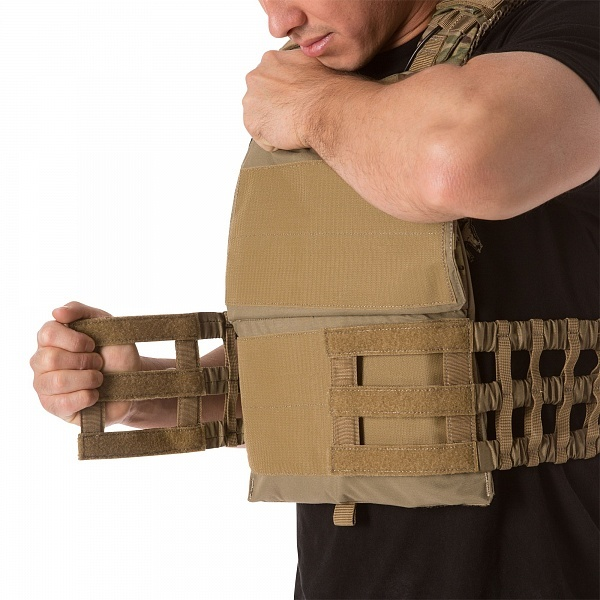ЖИЛЕТ TAC TEC PLATE CARRIER MULTICAM