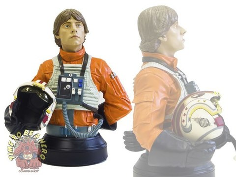 X-Wing Pilot Luke Skywalker Mini Bust Gentle Giant