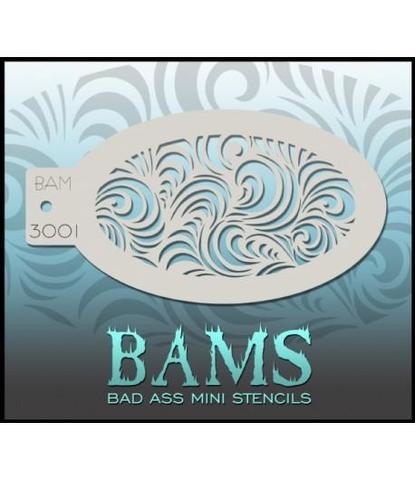 Трафарет BAMS 3001