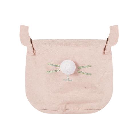 Корзина текстильная Meow Pink