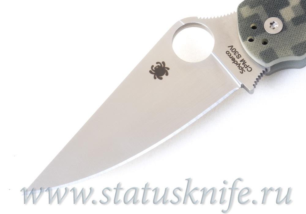 Нож Spyderco Paramilitary 2 C81GPCMO2 camo - фотография