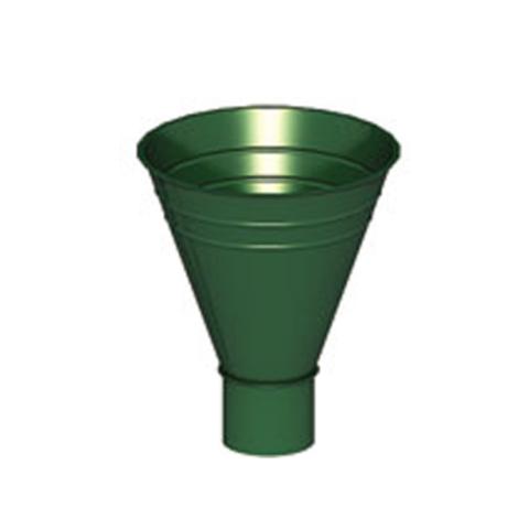 Воронка водосборная ф250/90 (RAL 6005-зеленый мох)