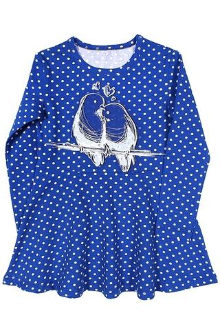 Basia Л1232-4329 Платье для девочки васильковое