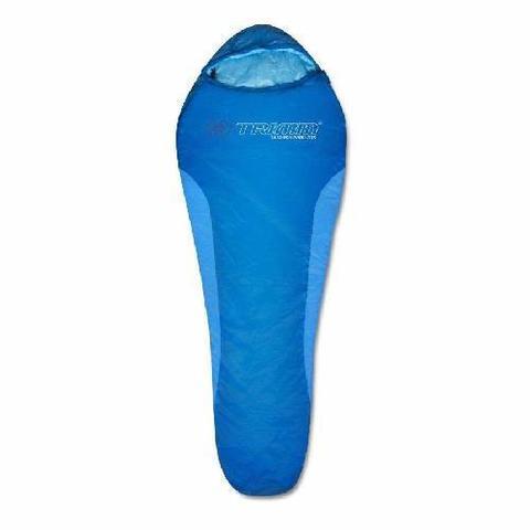Летний спальный мешок Trimm Cyklo, 185 L (зеленый, синий)