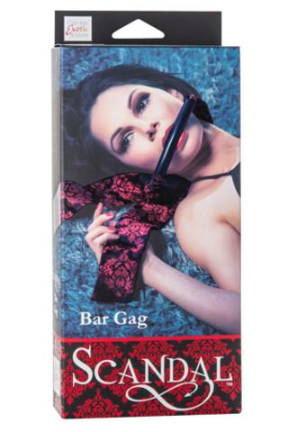 Scandal® Bar Gag - Black фото