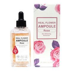 May Island Real Flower Ampoule Rose - Сыворотка осветляющая с лепестками розы