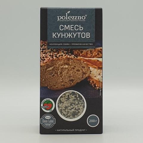 Смесь кунжутов POLEZZNO, 200 гр