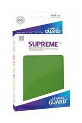 Ultimate Guard - Зеленые протекторы 80 штук в коробочке