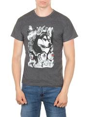 11112-6 футболка мужская, темно-серый