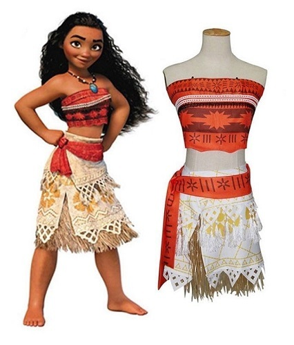 Моана костюм для девочки