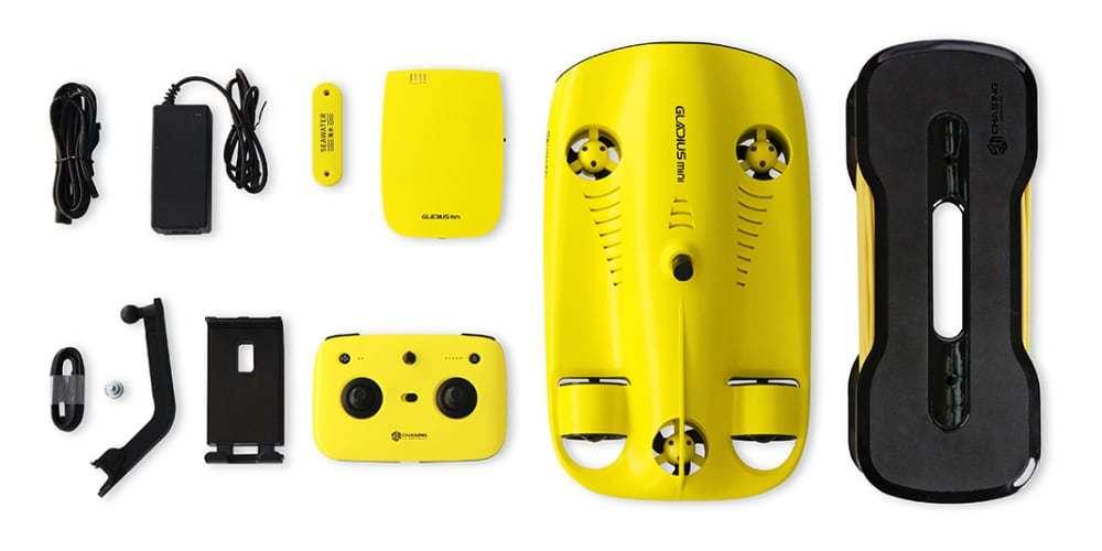 Подводный дрон Gladius Mini Combo что в комплекте