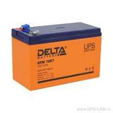 Аккумулятор DELTA DTM 1207 ( 12V 7,2Ah / 12В 7,2Ач ) - фотография