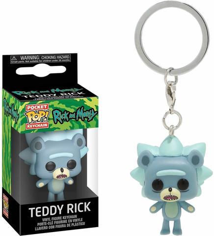 Брелок Funko Pocket POP! Keychain: Rick & Morty: Teddy Rick