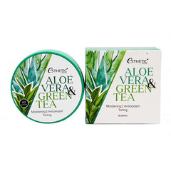 Esthetic House Aloe Vera&Green Tea Hydrogel Eye Patch - Патчи гидрогелевые алоэ и зеленый чай