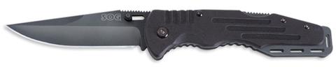 Купить Складной нож SOG Мод. SALUTE BLACK 97079 по доступной цене
