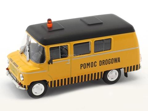 Nysa Pomoc Drogowa orange-black 1:43 DeAgostini Kultowe Auta PRL-u