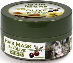Питательная маска для волос на основе оливкового масла и авокадо ATHENA'S TREASURES