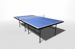 Теннисный стол для помещений с усилением WIPS СТ-ПУ (61011)
