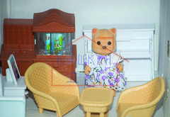 Самый полный набор кукольной мебели с семейкой Хэппи Фэмили