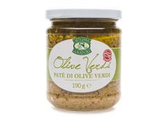 Крем паста по-генуэзски из зеленых оливок, 190г