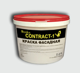 Краска в/д фасадная Contract - 1 (Контракт - 1) Rezolux  (15 кг) белая