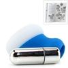 Мини вибратор силиконовый, с охлаждающим эффектом Posh Silicone Ice Massager Tease (6,5 х 5,7 см.)