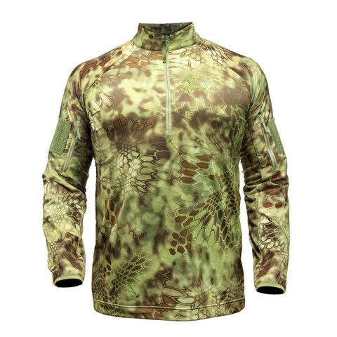 Куртка Valhalla LS ZIP с молнией и длинными рукавами (Mandrake)