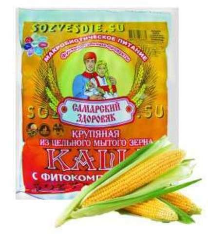 Каша Самарский Здоровяк №65 Пшенично-кукурузная