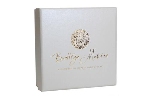 Коробка подарочная Bottega Murano 9х9 см.