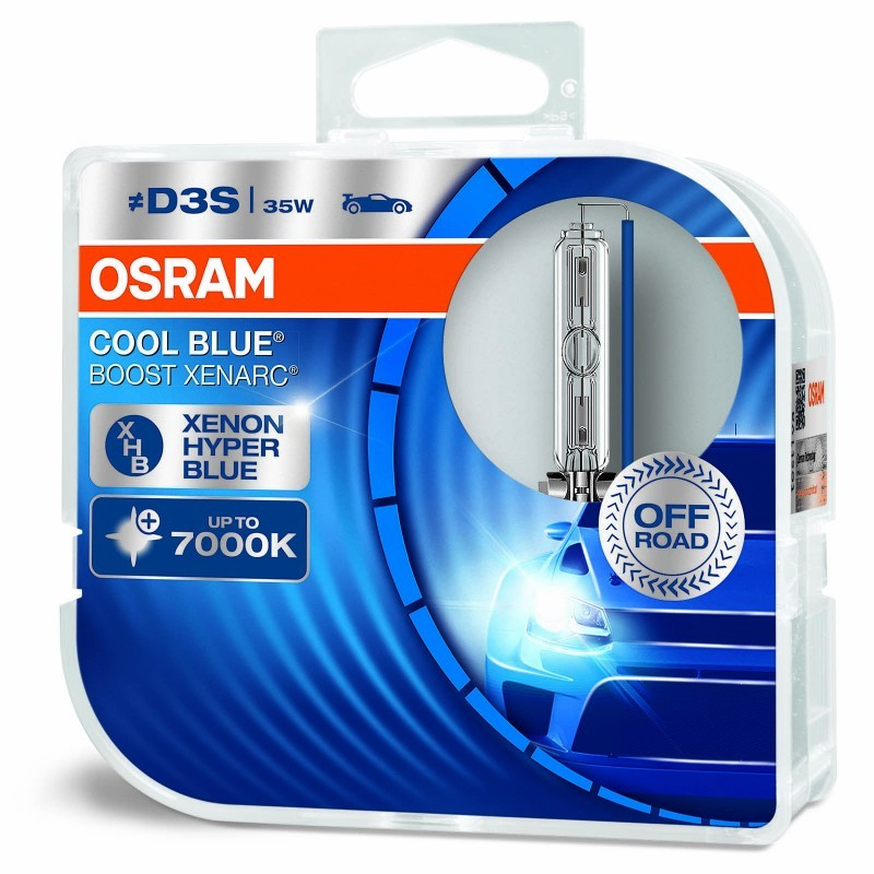 Ксенонвые лапмы OSRAM D3S Xenarc COOL BLUE BOOST