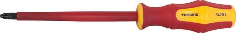 Отвертка крестовая диэлектрическая PHILLIPS®  VDE 1000 v PH1x80 мм