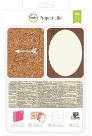 Карточки для Project life 180шт