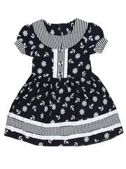 688-1 платье детское, темно-синее