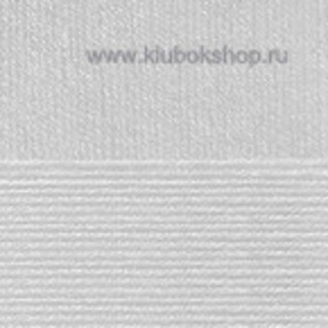 Пряжа Вискоза натуральная Пехорский текстиль Светло-серый 08