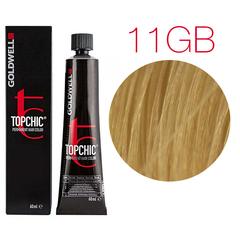Goldwell Topchic 11GB (светлый золотисто-бежевый блондин) - Cтойкая крем краска