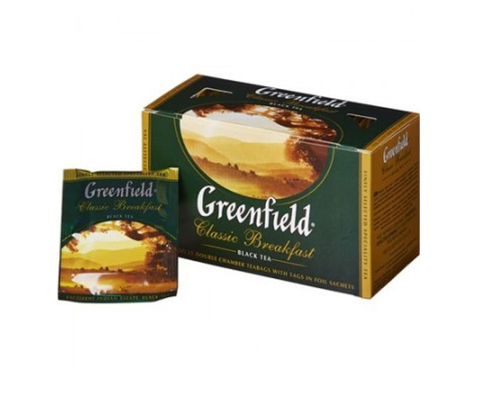 Greenfield Classic Breakfast, 25 пак/уп