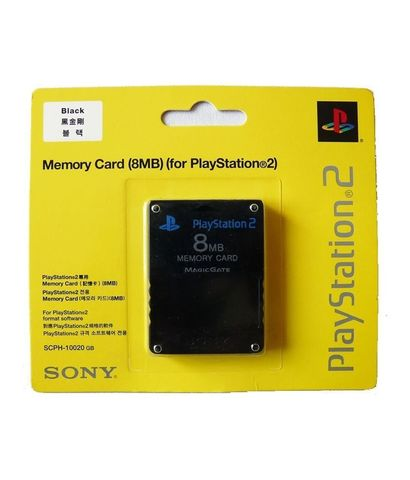 Sony PS2 Memory Card 8MB