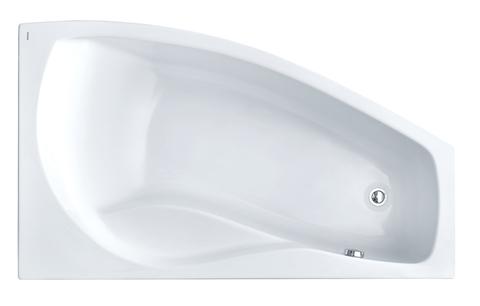 Майорка XL 160х95 R асимметричная белая 1WH111990