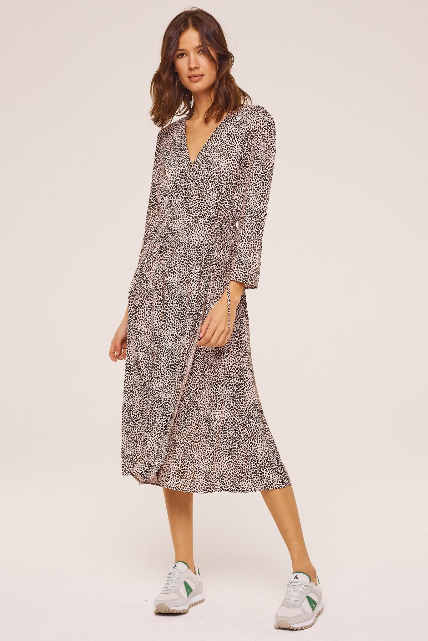 ROSINDA - Длинное платье с леопардовым принтом