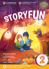 Storyfun for Starters Level 2 Student's Book wi...