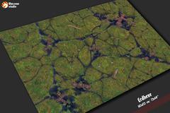 Игровое покрытие Erdhexe. 120x180 см