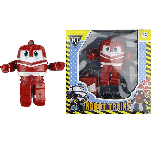 Игрушка Robot Trains  в индивидуальной упаковке ALF (красный) 1кор*1бл*1шт